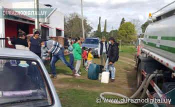 Pese al trabajo Santa Bernardina sigue sin agua potable: van dos días - duraznodigital.uy