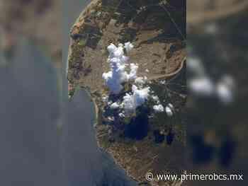 Desde el espacio, astronauta francés fotografía Cabo San Lucas - Primero BCS