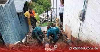 Deslizamiento provocó ruptura de un tubo del Acueducto en Ciudad Bolívar - Caracol Radio