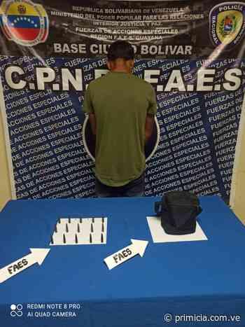 Lo atraparon con municiones de alto calibre en Ciudad Bolívar - Diario Primicia - primicia.com.ve