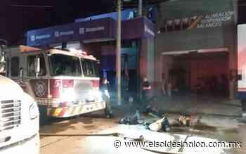 Incendio devora una refaccionaria en la sindicatura de El dorado - El Sol de Sinaloa