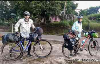 Bolivarenses recorren desde Upata a Santa Elena de Uairén en bicicleta - Diario Primicia - primicia.com.ve