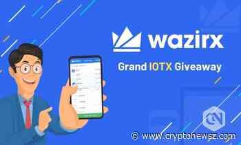 WazirX Spotlights IoTeX Through a Grand IOTX Giveaway Worth $25,000 - CryptoNewsZ