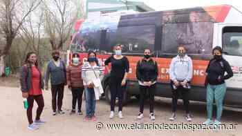Vecinas de Capilla del Monte visitaron la Quebrada de La Luna y Ongamira - El Diario de Carlos Paz