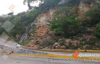 Cierran tramo Sinfonía-La Quebrada por deslave de rocas en Acapulco - Quadratin Guerrero