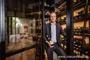 """Topsommelier Victor Derks van Nuance wordt gelauwerd: """"Zelf drink ik maar weinig wijn"""" - Het Nieuwsblad"""
