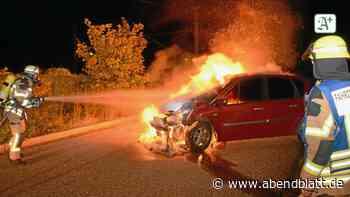 Auto in Flammen: Keine Brandstiftung in Reinbek - Hamburger Abendblatt