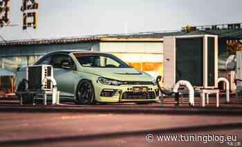 VW Eos mit 400 PS, Scirocco-Front, und Airride-Fahrwerk! - tuningblog.eu