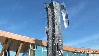 Rock climbing wall comes to Metroparks - WNWO NBC 24
