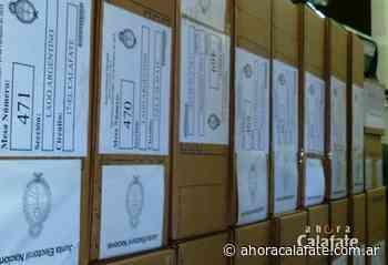 PASO 2021. Lugares donde se vota en El Calafate - FM Dimensión - El Calafate