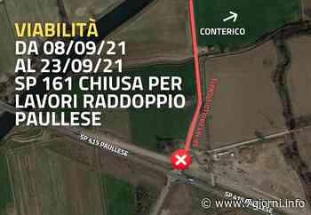 Raddoppio della Paullese: chiusura temporanea per la Provinciale Paullo-Vignate - 7giorni