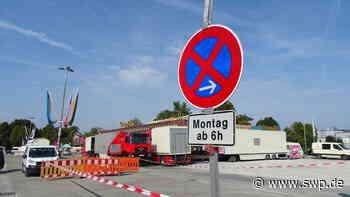 Das Horaffenland in Crailsheim wird aufgebaut: Hier kann geparkt werden - SWP