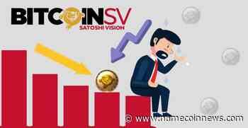 Bitcoin SV (BSV) Fails to Breach the 200 DMA Resistance! - NameCoinNews