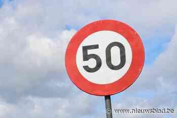 Snelheidsbeperking van 50 kilometer per uur blijft op invals... (Ledegem) - Het Nieuwsblad