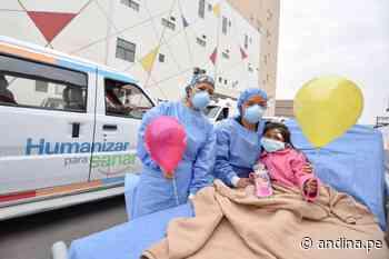 Accidente de Matucana: INSN San Borja dio de alta a niña de 5 años que resultó herida - Agencia Andina