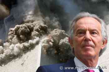 Tony Blair's statement on 9/11 that confirmed the UK was going to war - Rhyl Journal