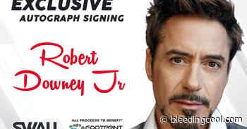 Robert Downey Jr $750 CGC Signing To Benefit FootPrint Coalition - Bleeding Cool News