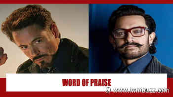 Did you know Marvel's Iron Man Robert Downey Jr once praised Aamir Khan? Here's why - IWMBuzz