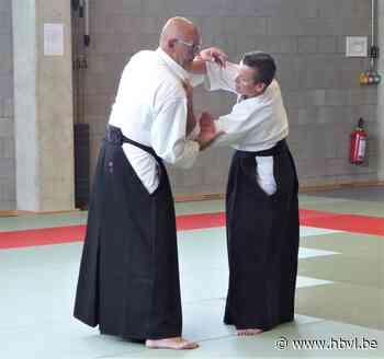 Eerste aikido-les in Kinrooi - Het Belang van Limburg