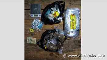 Capturan a hombre que transportaba marihuana, cocaína y crack en Sonsonate - elsalvador.com