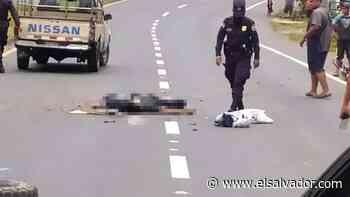 Un motociclista muerto y otro lesionado en accidente en Sonsonate - elsalvador.com