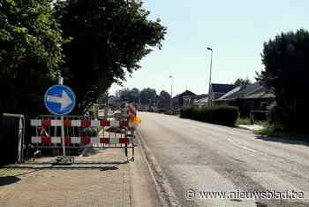 Nieuwe stoepen in Mechelen-Bovelingen