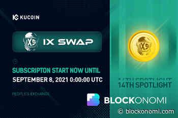 KuCoin Introduces 14th Spotlight Token Sale: IX Swap Project - Blockonomi