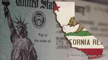 ¿Eres indocumentado? Esto debes saber sobre el Estímulo del Estado Dorado en California - Univision
