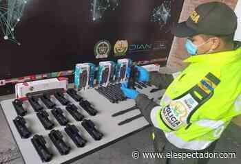 Incautan partes de armas de largo alcance en Aeropuerto El Dorado de Bogotá - El Espectador
