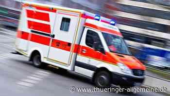 Schwerer Unfall im Nebel: Auto überschlägt sich bei Bad Langensalza mehrfach - Thüringer Allgemeine