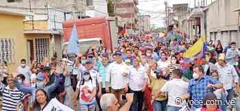 Opositores protagonizan caminata de la victoria en Upata (Audio Noticia) - La Voce d'Italia