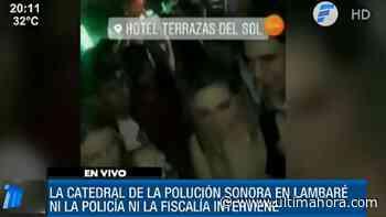 Denuncian polución sonora y violación de cuarentena en Lambaré - ÚltimaHora.com