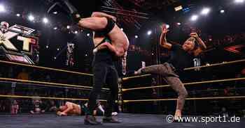 Erfolgreiche WWE-Gruppierung zerfällt bei NXT - SPORT1