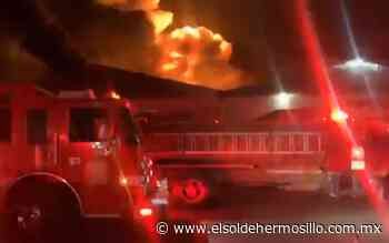 Sujetos armados incendian tráiler en taller de la colonia Palo Verde - El Sol de Hermosillo