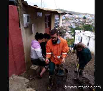 """""""Casi nos tumba las casas"""": habitantes tras rompimiento de un tubo en Ciudad Bolívar - RCN Radio"""