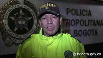 Drones de la Policía resuelven caso en Ciudad Bolívar | Bogota.gov.co - Alcaldía de Bogotá