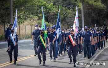 Desfile de guardas mirins marca Dia da Independência em Arraial do Cabo - O Dia