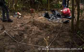 Van 69 cuerpos hallados en fosas en Colima - El Sol de México