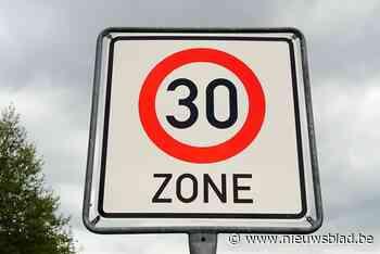 Zone 30 wordt permanent én uitgebreid - Het Nieuwsblad