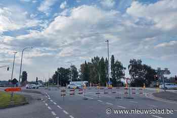 Kruispunt expresweg met Nieuwburg tot eind september afgeslo... (Assenede) - Het Nieuwsblad