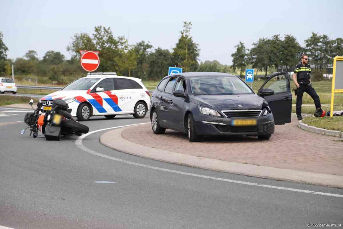 Motorrijder gewond na ongeval met auto in Nijega - Noordernieuws