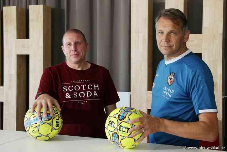 """Trainers Jeffry Verhoeven en Rudi Verkempinck trappen derby en nieuwe competitie af: """"Er zijn amateurs die trainen als profs, maar ook profs die trainen als amateurs""""<BR />"""