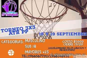Torneo de 3x3 de básquet masculino en El Calafate - FM Dimensión - El Calafate