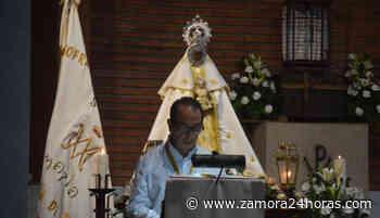 El obispo de Zamora, Fernando Valera, oficia la misa en honor a la Virgen de la Peña de Francia - Zamora 24 Horas