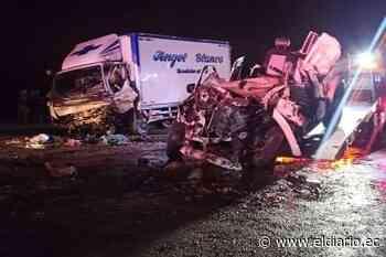 Manabita muere en un fatal accidente en Santa Elena - El Diario Ecuador