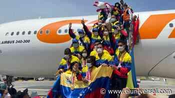 Caravana paraolímpica parte desde La Guaira hacia Caracas - El Universal (Venezuela)