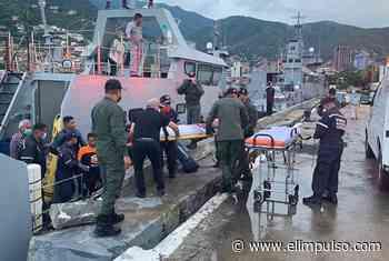 ▷ Trasladan a hospital de La Guaira a rescatados en altamar #8Sep - El Impulso