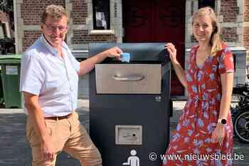Gemeente test slimme vuilnisbak aan Kiliaanstraat (Duffel) - Het Nieuwsblad