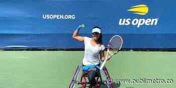 Angélica Bernal terminó su participación en el US Open - Publimetro Colombia