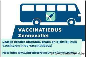 De vaccinatiebus doet ook de Zennevallei aan